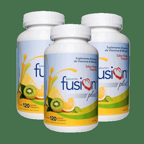 Kit C/3 Bariatric Fusion Frutas Tropicais