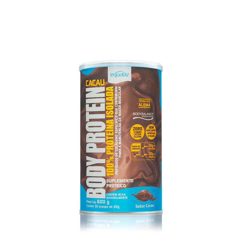Body Protein Cacau 600g - Equaliv