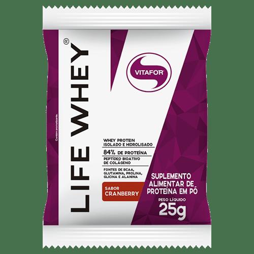 Life Whey - 1 Sachê - Vitafor