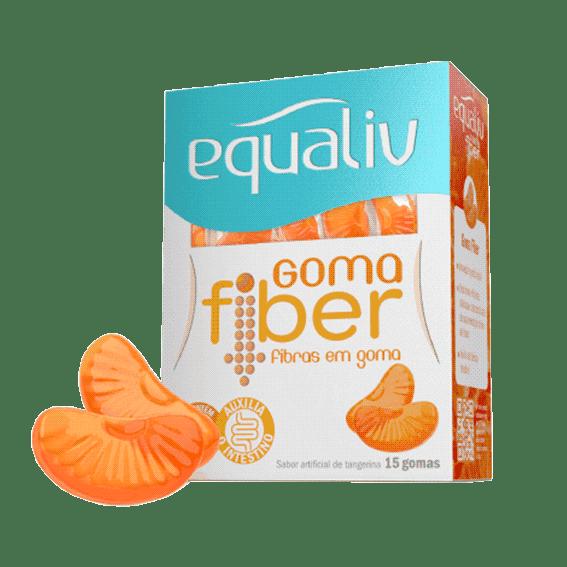 Goma Fiber Equaliv 15 unidades