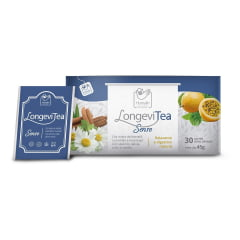 Chá LongeviTea Sense 30 Sachês