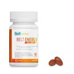 Belt Energy All Day-Belt Nutrition - 30 Cápsulas Cafeína de Liberação Lenta e óleo de Cártamo