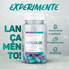 Biocolin Hair Central Nutrition 60 cápsulas