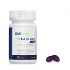 Belt Moove Tipo 2 - Belt Nutrition (Articulações) - 60 Cápsulas
