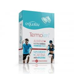 Equaliv Termolen Cafeína 62 cápsulas gelatinosas