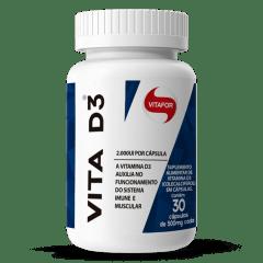 Vitamina D  Colecalciferol- Vita D3 2000 UI 30 caps Vitafor